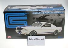 1/18 ACME / GMP 1965 TOMS GARAGE DRIVING SCHOOL SHELBY GT 350 MUSTANG 102 Made