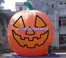 26 FT Inflatable Pumpkin Halloween Jack O Lantern w/ Fan w/ LIGHT CUSTOM MADE
