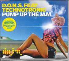 D.O.N.S. ft TECHNOTRONIC - Pump up the jam CDM 6TR Enh Euro House 2005 UK Trance