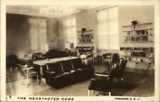 Yonkers NY The Neustadter Home c1950 Real Photo Postcard jrf