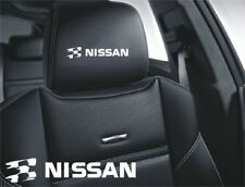 5x Nissan Sticker for leather seats and other flat and smooth surfaces