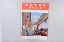 Motor Revue Europa Motor Ausgabe 26 Sommerausgabe 1958