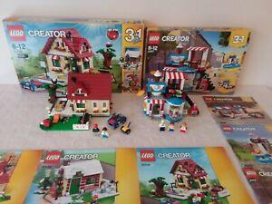 Lot Lego CREATOR - 31038 Le changement de saison + 31077 Plein de surprises
