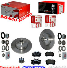 Bremsscheiben SET  Radlager  226mm- HA-VW Corrado,Golf II,III,IV,Jetta II,Polo
