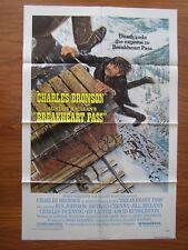Vintage Movie Poster Style B 1 Sheet 1976 Breakheart Pass Charles Bronson