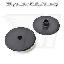 10x revestimiento interior alfombra clips de fijación VW SEAT SKODA audi | 8e0864227