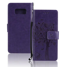 Flip Leather Card Wallet Phone Case Cover With Strap For Samsung Galaxy S7 Edge