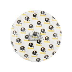 Pittsburgh Steelers NFL 12 Reusable Plastic Plates