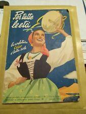 Cirio Ricettario Confetture  1953/54