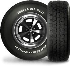 BF GOODRICH TYRES 225/60/14 RADIAL MUSCLE CARS USA PERFORMANCE