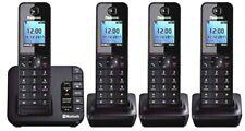 Panasonic Kx-tgh264 Quad Link2mobile Cordless Home Phone 4 Handsets
