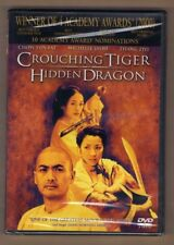 Crouching Tiger Hidden Dragon new dvd Chow Yun Fat Michelle Yeoh Zhang Ziyi