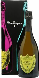 Dom Perignon 2002 Andy Warhol Champagne 75cl - Gift Boxed - Warhol Yellow