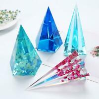 Quartz Shard Silicone Molds Crystal Point Molds Epoxy Resin Pendant Moulds DIY