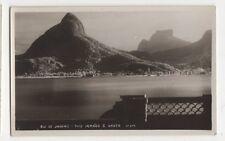 Brazil, Rio De Janeiro, Dois Jrmaos e Gavea RP Postcard, B199