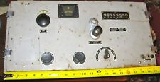 WWII German Kriegsmarine Long Range Radio Enigma Machine U-Boat Submarine Sub