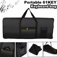 Portable Electronic 61 Key Keyboard Piano Case Gig Bag For Yamaha Casio