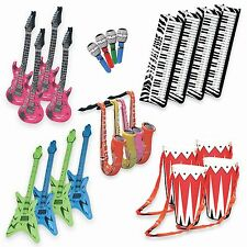Band On The Run - Inflatable Musical Rock Band Instruments - 24 Piece ... NO TAX