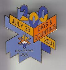 RARE PINS PIN'S .. OLYMPIQUE OLYMPIC JEUX HIVER 2002 SALT LAKE CITY UTAH USA ~17