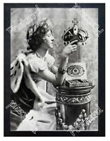 Historic Golden Crown Cigars 1890s Advertising Postcard