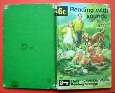Reading With Sounds vintage Ladybird book 6c Key Words Reading Scheme learning