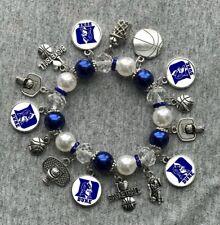 Duke Blue Devils Charm Bracelet