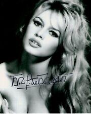 BRIGITTE BARDOT signed Autogramm 20x25cm VIVA MARIA autograph COA