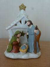 Gisela Graham Ceramic Light Up Nativity Night Light.
