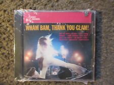 """V/A """"WHAM BAM THANK YOU GLAM!"""" 1994 12 TRX. STILL SEALED OUT OF PRINT COMP.CD"""