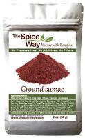 The Spice Way Pure 100% Sumac Powder