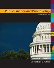 Public Finance and Public Policy by Jonathan Gruber (2012, Hardcover, Revised)