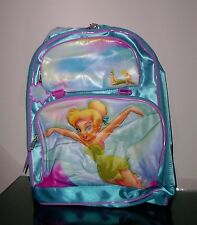 Disney Tinkerbell Blue Backpack Back Pack New in Package