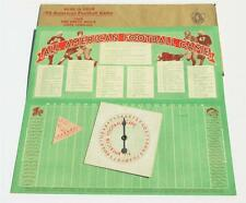 *RARE* Vintage Old Antique 1930's FOOTBALL GAME *RARE* VICTOR FLOUR ADVERTISING