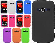 ZTE Concord II 2 Z730 Rubber SILICONE Soft Gel Skin Case Phone Cover Accessory
