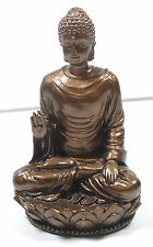 NEW! Shakyamuni Statue Figurine Bronze Resin Buddha Tibetan Gift Home Accent