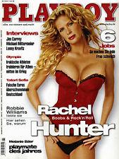 Playboy 06/2004   Rachel Hunter & Melanie Eder   Juni/2004