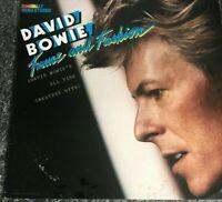 Fame And Fashion David Bowie vinyl LP album record German PL84919 RCA 1984