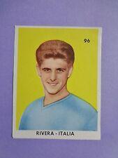 FIGURINA CALCIATORI FOOTBALL SOCCER ITALIA RIVERA  SAN GIORGIO 1962 RARA NEW-FIO