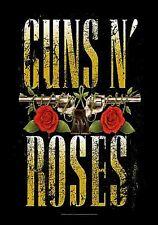 Guns N Roses Logo large fabric poster / flag 1100mm x 750mm (hr)
