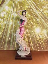 GIUSEPPE ARMANI Florence CAPODIMONTE Statua In Ceramica Capodimonte Ballerina