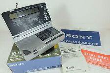 SONY Worldband Receiver ICF - SW12 Short Wave/MW/FM Radio