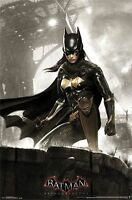 ARKHAM KNIGHT - BATGIRL - BATMAN VIDEO GAME POSTER - 22x34 DC COMICS 14432