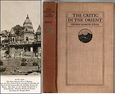 THE CRITIC IN THE ORIENT 1913 Fitch 1st 64 Photos some tipped Japan India Egypt
