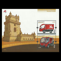 "Portugal 2013 - Europa 2013 ""Postal Vehicle"" Truck S/S - Sc 3514 MNH"