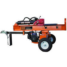 Brave 30-Ton 189cc Honda-Powered Horizontal / Vertical Gas Log Splitter