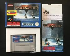 WATER WORLD, PAL/NOE, BOXED WITH INSTRUCTIONS FOR SNES, SUPER NINTENDO, RARE