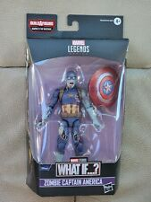 MARVEL LEGENDS WHAT IF...? WATCHER BAF ZOMBIE CAPTAIN AMERICA NEW IN HAND MINT