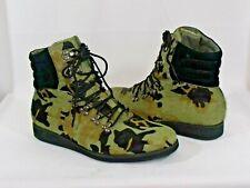 ANDROID HOMME Men's Hi-Top Sneaker Shoe Multi-Color Faux Pony Fur - Size 12