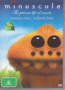 MINUSCULE The Private Life Of Insects DVD Season 1, Volume 2 - Like New