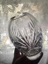 New Bohemian Crystal Vase , 5 Inches Tall